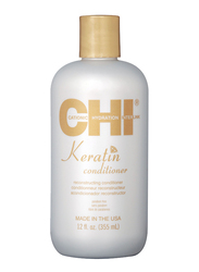 CHI Keratin Conditioner for Damaged Hair, 355ml