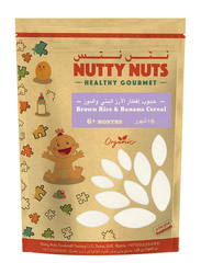 Nutty Nuts Brown Rice & Banana Cereal, 6+ Months, 250g