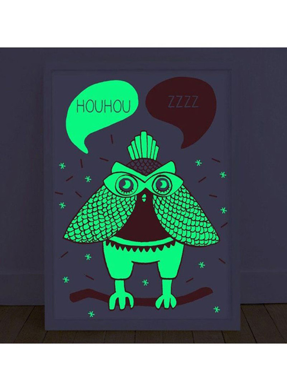 Omy Glow In The Dark Loula Poster, Peach
