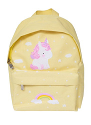 A Little Lovely Company Mini Backpack, Unicorn, Yellow