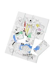 Omy 12-Piece Fantastic Coloring Puzzle