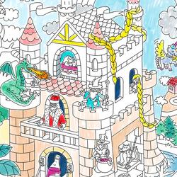Omy Fairy Tales XXL Poster, White