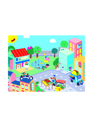 OMY Small Ville Decor Pocket Sticker Set, 151 Pieces, Ages 3+