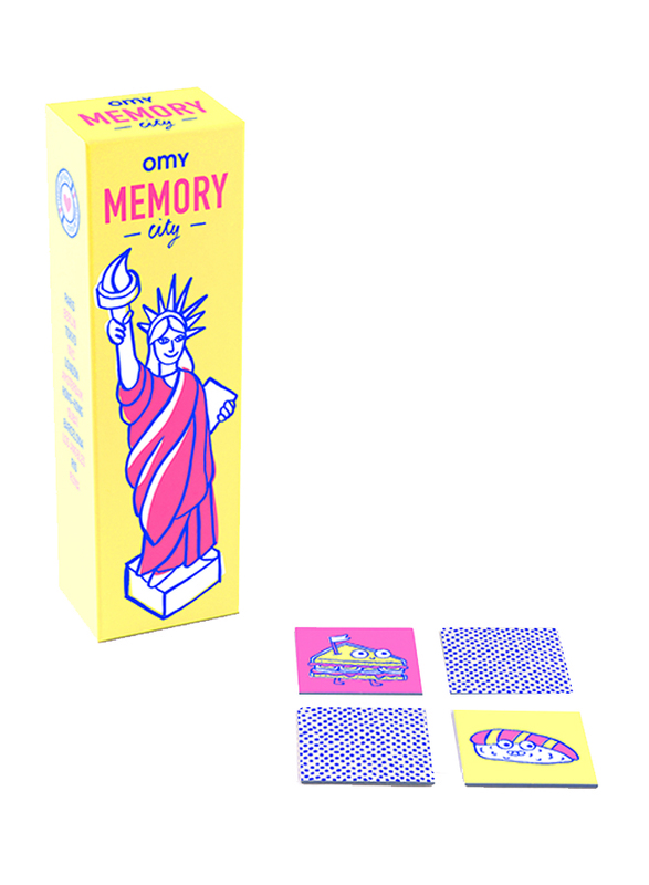 Omy Box of Memory Card Game