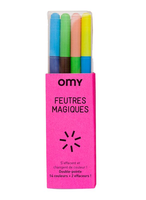 OMY Magic Felt Pen, 16 Pieces, Ages 3+