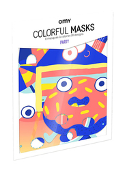 Omy Party Mask, White