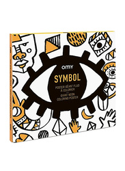 Omy Symbol Large Poster With Stickers
