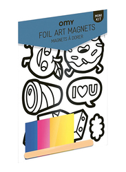 Omy New York City Mini Kit Foil Art Magnet