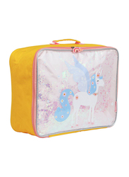 A Little Lovely Company Glitter Unicorn Suitcase for Girls, Pink
