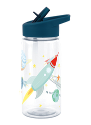 A Little Lovely Company Space Drink Bottle, 400ml, Navy Blue