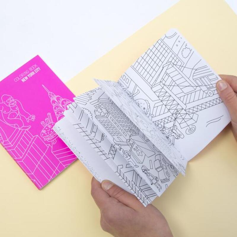 OMY New York Coloring Notebook, Ages 3+