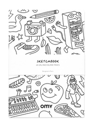 OMY Small Sketchbook, 48 Pages, Ages 3+