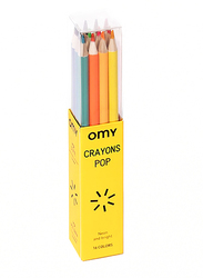 OMY Pop Colored Pencils, 16 Pieces, Ages 3+