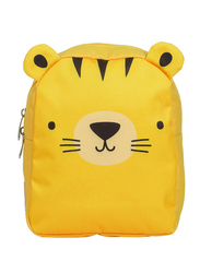 A Little Lovely Company Tiger Little Backpack Bag for Kids, Yellow