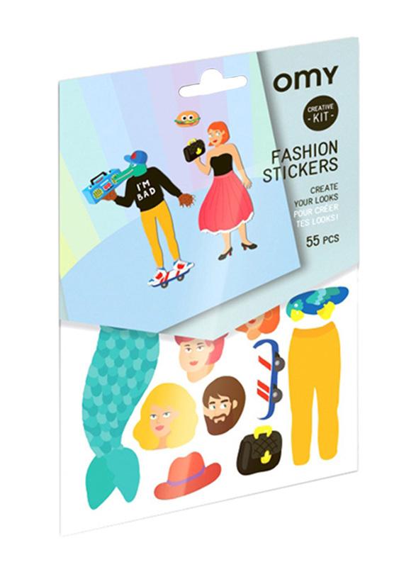Omy Creative Fashion Kit Stickers