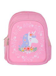 A Little Lovely Company Unicorn New Backpack Bag for Girls, Pink