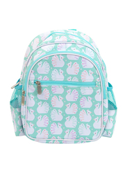 A Little Lovely Company Peacocks Backpack Bag for Girls, Green
