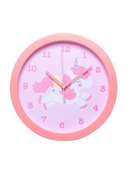 A Little Lovely Company Unicorn Clock, Pink