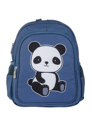 A Little Lovely Company Panda New Backpack Bag for Kids, Blue