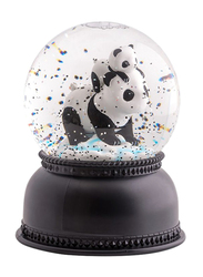 A Little Lovely Company Snowglobe Light, Panda, Black