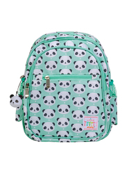 A Little Lovely Company Panda Backpack Bag for Girls, Green