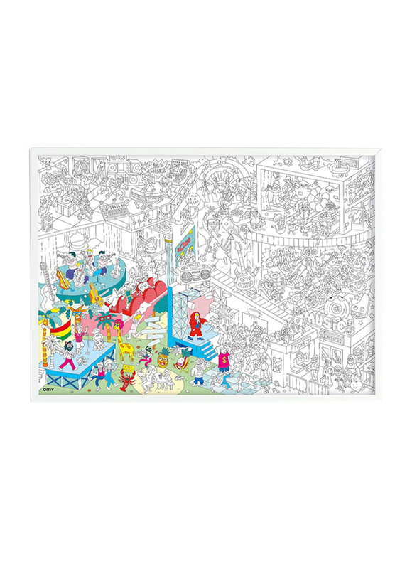 OMY Music Large Poster, Ages 3+