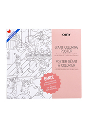 OMY Dance Large Poster, Ages 3+