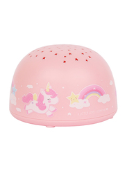 A Little Lovely Company Unicorn Projector Light, Pink