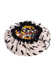 Play and Go Panda Playmat & Storage Bag, Black/Beige