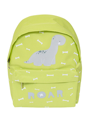 A little Lovely Company Brontosaurus Mini Backpack Bag for Boys, Green