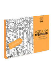 OMY Barcelona Pocket Map, 13 Pieces, Age 3+