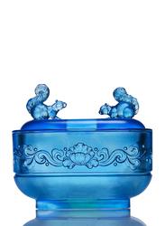 Tittot Blossoming Passion Indoor Decorative Piece, Blue