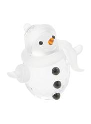 Swarovski Memories Snow Man Figurine Indoor Decorative Accents, Clear