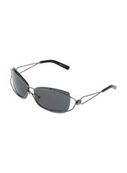 Rochas Full Rim Oval Sunglasses for Women, Grey Lens, 931091, 120/11/130