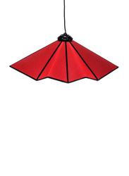 NGA Stylish Paloma Ceiling Lamp, Red