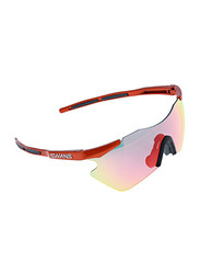 Swans Polarized Rimless Sport Glasses for Men, Multicolour Lens, GU9603, 80/20/130