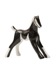 Cmielow Pony Figurine Indoor Decorative Accents, Black/White