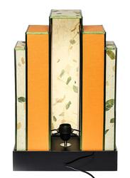 NGA Brasilia Table Lamp, Beige/Yellow