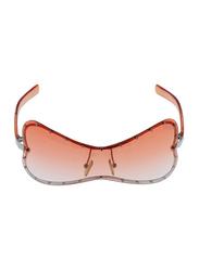 Lancaster Polarized Full Rim Butterfly Sunglasses for Women, Orange Lens, JO244, 60/25/120