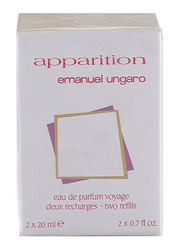 Emanuel Ungaro 2-Piece Apparition Perfume Set for Women, 2 x 20ml EDP