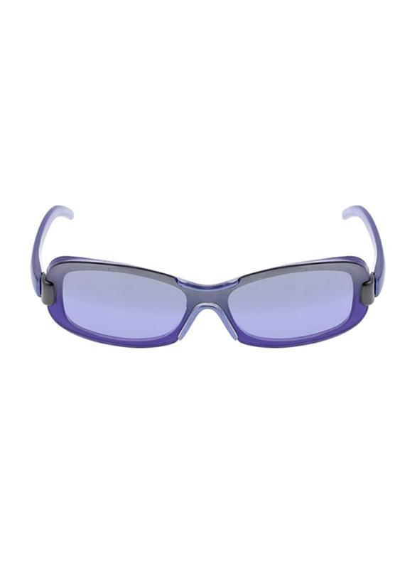 Rochas Full Rim Rectangular Sunglasses for Women, Purple Lens, 930695, 110/11/130