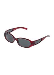 Rochas Full Rim Oval Sunglasses for Women, Grey Lens, 909444, 100/11/130