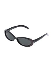 Rochas Full Rim Oval Sunglasses for Women, Grey Lens, 909762, 110/11/130