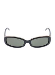 Rochas Full Rim Rectangular Sunglasses for Women, Grey Lens, 909501, 110/11/130