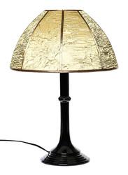 NGA Coco Table Lamp, Gold/Black