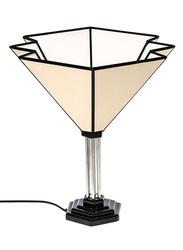 NGA Stunning Ibiza Table Lamp, Beige/Black