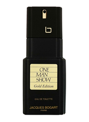Jacques Bogart Jb One Man Show Gold Edition 100ml EDT for Men