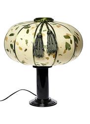 NGA Julia Table Lamp, Cream/Black