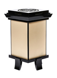 NGA Elegant Logo Table Lamp, Beige/Black