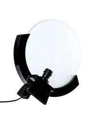 NGA Worm Table Lamp, White/Black